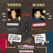 Venus vs. Mars