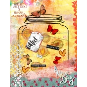 A New Day- Art Journal Layout