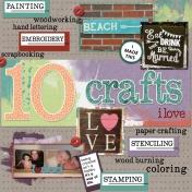 10 Crafts I Love