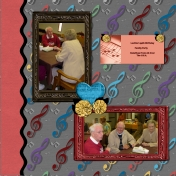 Aunt Lucille's 95th Birthday Party layout #3