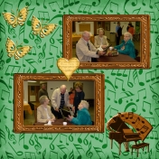 Aunt Lucille's 95th Birthday Party layout #4
