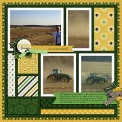 Big Green Tractors