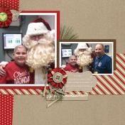 Santa Comes to Clinic