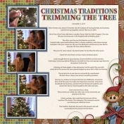 Christmas Traditions- Trimming Tree