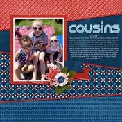 Cousins at the Parade