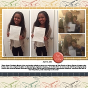 Sister Timmie Bowie- Mission Call Day