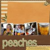 Bottling Peaches 2015
