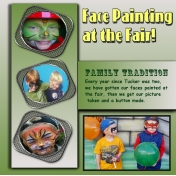 Face Painting at The Fair