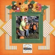 Pumpkin Patch coat drive