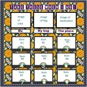 Visual checklist for small children