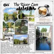 The River Cam Cambridge England