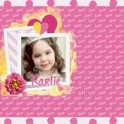 Love you Karlie