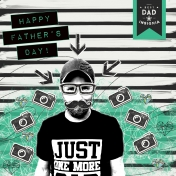 Happy Father's Day Hipster Style