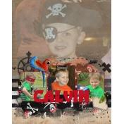 Calvin the Pirate!