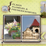 Flags, Flowers, and Fredericksburg