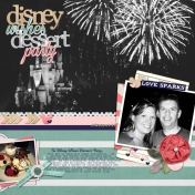 Disney Wishes Dessert Party