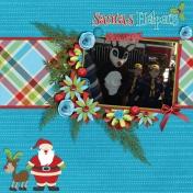 Boy Scout Santa