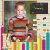 2014 James kindergarten