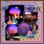 Epcot Night