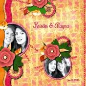Kristin and Alayna