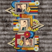 Zack and Billy Summer 2000