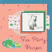 Tea Party Recipes Cover Page