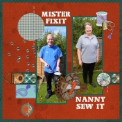 Mister Fixit and Nanny Sew It
