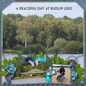 A Peaceful Day at Ruislip Lido