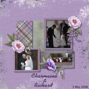 Charmaine and Richard Wedding