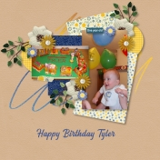 Happy First Birthday Tyler