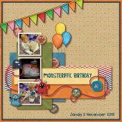 Monsteriffic Birthday