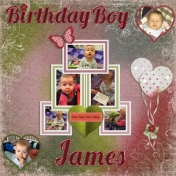Birthday Boy James