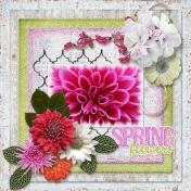Spring Flowers Technique