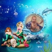 Aliya bathing