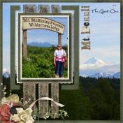 Sherry at Mt Denali