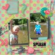Splish Splash Summer Aliya and Brennon