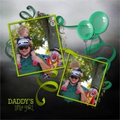 Aliya, Dad and Clown