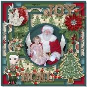 Aliya and Santa 2016