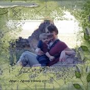 Mommy and Maya Arizona Landscape 2017