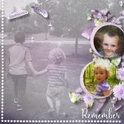 Remember Brennon & Aliya at the park