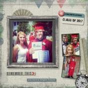 James graduates highschool
