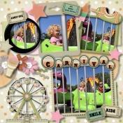 Peach fest harvest carnival