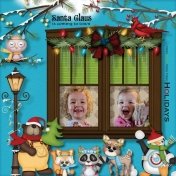 Winter Wonderland Girls waiting for Santa
