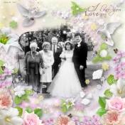 Marriage Tim & Sherry 1985