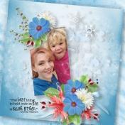 Frosty Morning Mom & Aliya