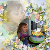 Feathered Maya 4 yr. Birthday
