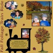 Fall Foliage Train Ride