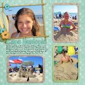 At the beach 2013