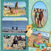 At the Beach 2013 right page