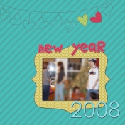 New Years 2008